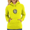 Girl with headphones Womens Hoodie