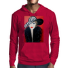 GIRL WITH STRIPE HAT  ART DECO Mens Hoodie