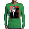 GIRL WITH STRIPE HAT  ART DECO Mens Long Sleeve T-Shirt