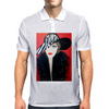 GIRL WITH STRIPE HAT  ART DECO Mens Polo