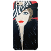GIRL WITH STRIPE HAT  ART DECO Phone Case
