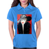 GIRL WITH STRIPE HAT  ART DECO Womens Polo