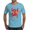 Girl X Boy Mens T-Shirt