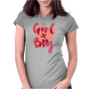 Girl X Boy Womens Fitted T-Shirt