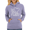 Girls Fish Too Only Prettier Womens Hoodie