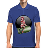 Girls Models bombshells Mens Polo