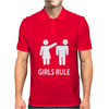 Girls rule Mens Polo