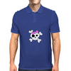 Girly Skull and Cross Bones Mens Polo