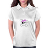 Girly Skull and Cross Bones Womens Polo