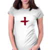 Give Blood, Mountain Biking Womens Fitted T-Shirt