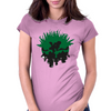 Globe T Womens Fitted T-Shirt