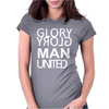 Glory Glory Man U Womens Fitted T-Shirt