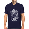 Glove Love Hands Typography Mens Polo
