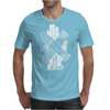 Glove Love Hands Typography Mens T-Shirt