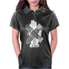 Glove Love Hands Typography Womens Polo