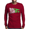 Glow In The Dark - Back 2 the 80 Mens Long Sleeve T-Shirt