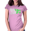 Glow In The Dark - Back 2 the 80 Womens Fitted T-Shirt
