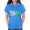 Glow In The Dark - Back 2 the 80 Womens Polo