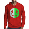 Glow In The Dark Headphone Smiley Mens Hoodie