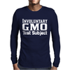 GMO TEST SUBJECT V1 MARCH MONSANTO CROPS PRODUCE Mens Long Sleeve T-Shirt