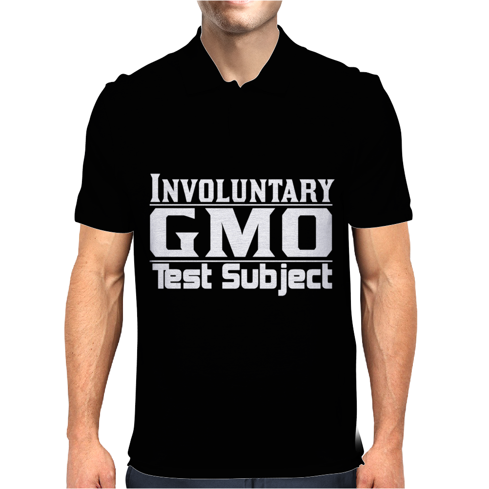 GMO TEST SUBJECT V1 MARCH MONSANTO CROPS PRODUCE Mens Polo