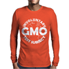 GMO TEST SUBJECT V2 ANTI-GMO SOY FRUIT VEGETABLES Mens Long Sleeve T-Shirt