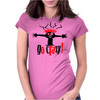 Go Crazy Womens Fitted T-Shirt