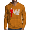 GO HARD LIKE VLADIMIR PUTIN (red) Mens Hoodie