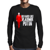 GO HARD LIKE VLADIMIR PUTIN (red) Mens Long Sleeve T-Shirt