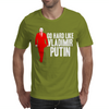 GO HARD LIKE VLADIMIR PUTIN (red) Mens T-Shirt