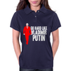 GO HARD LIKE VLADIMIR PUTIN (red) Womens Polo