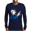 Go To Jail Monopoly Mens Long Sleeve T-Shirt