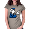 Go To Jail Monopoly Womens Fitted T-Shirt