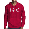 Go Travel World Mens Hoodie
