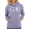 Go Travel World Womens Hoodie