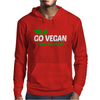 Go Vegan Save Animals Mens Hoodie