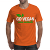 Go Vegan Save Animals Mens T-Shirt