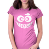 Go Vegan Womens Fitted T-Shirt