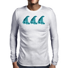 Go with the Flow Mens Long Sleeve T-Shirt