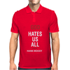 God Hates Us All Hank Moody Mens Polo
