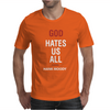 God Hates Us All Hank Moody Mens T-Shirt
