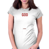 God Hates Us All Hank Moody Womens Fitted T-Shirt