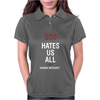 God Hates Us All Hank Moody Womens Polo