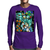 God Mode Reached +Shadow and Vegeta+ Mens Long Sleeve T-Shirt