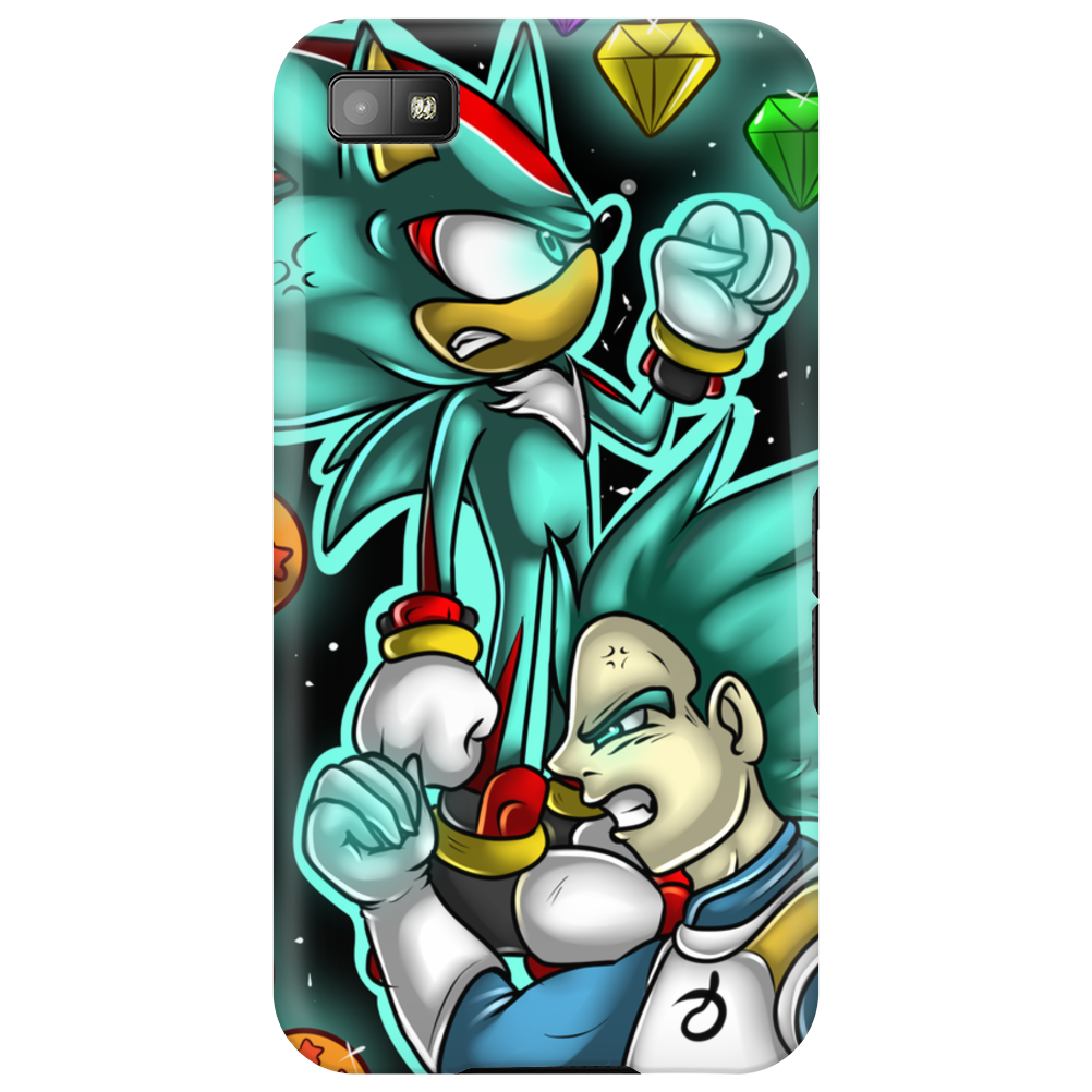 God Mode Reached +Shadow and Vegeta+ Phone Case