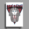 God Of Trill Poster Print (Portrait)