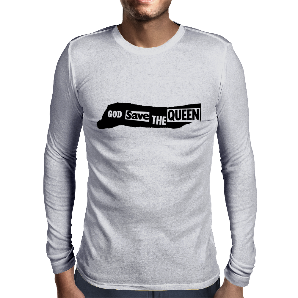 God Save The Queen Mens Long Sleeve T-Shirt