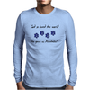 God so loved the world he gave us Airedales Mens Long Sleeve T-Shirt