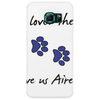 God so loved the world he gave us Airedales Phone Case
