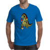 Godzilla Monster Eating Gnomes Mens T-Shirt